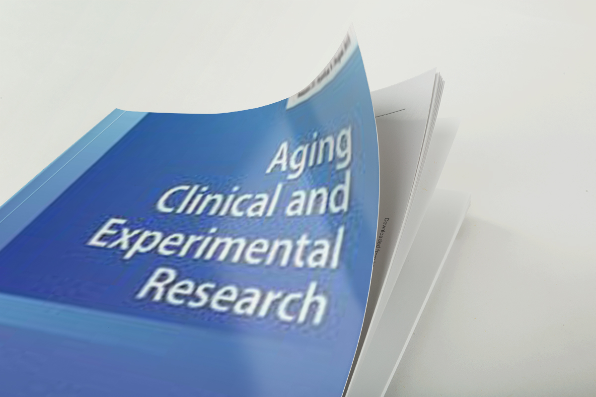 Aging Clin Exp Res